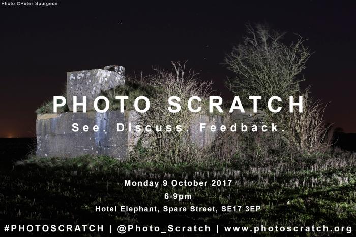 PHOTO SCRATCH OCT 2017 POSTER