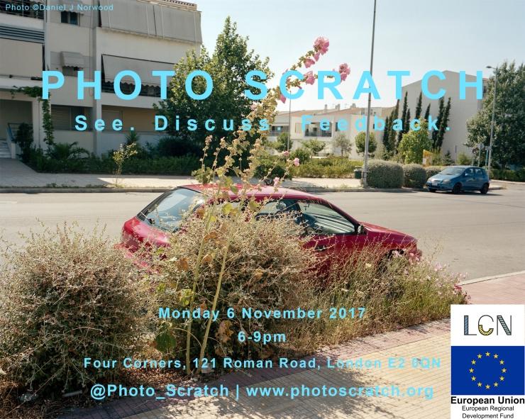 PHOTO SCRATCH Nov 6th 2017 POSTER