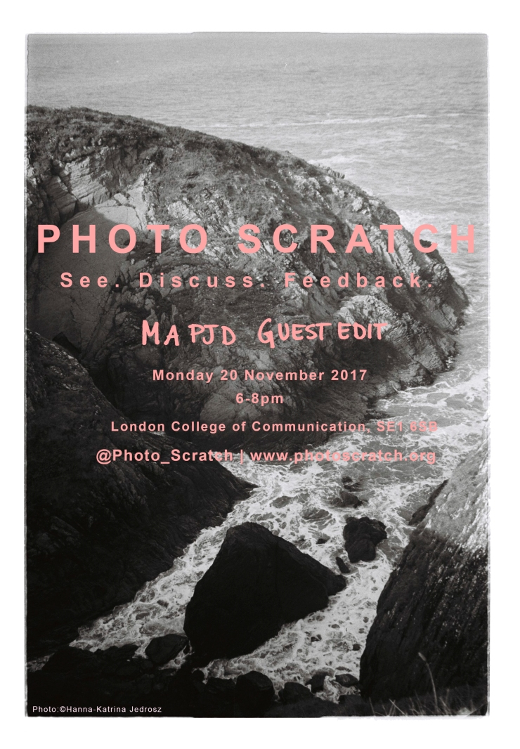 PHOTO SCRATCH Nov 20th 2017 POSTER